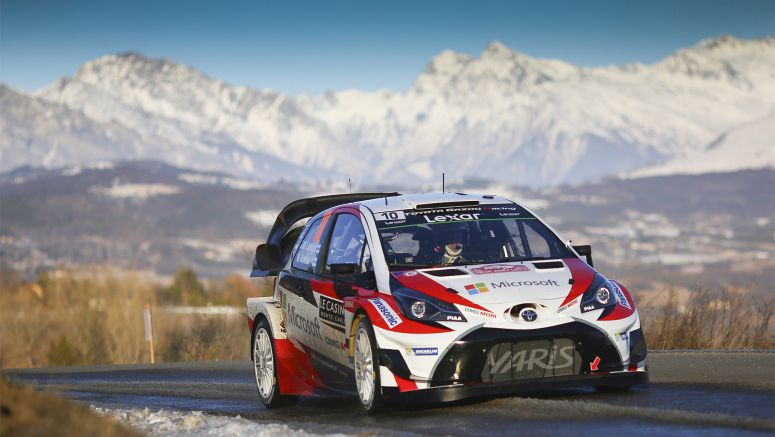 Toyota Takes Second Place in Wrc Return