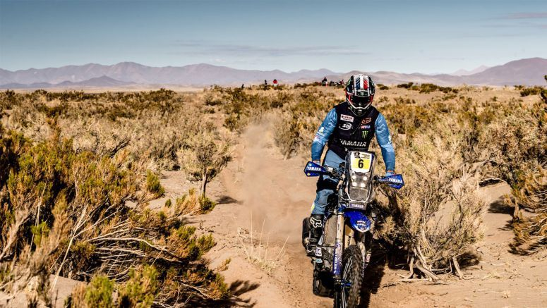 Yamaha: Van Beveren Goes Into Attack Mode During Stage Three At Dakar Rally