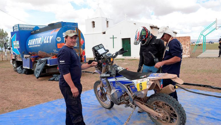 Third And Sixth For Yamaha Riders After Marathon Stage At Dakar Rally 2017