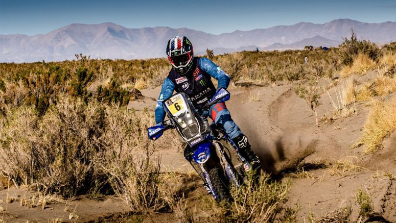 Two Yamahas Inside The Top 10 After Dakar Rally's Stage Four