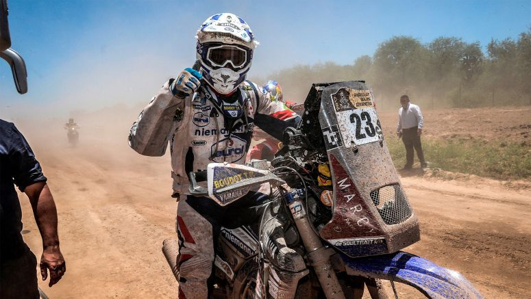 Yamaha Riders Battle Through Challenging Stage Two At Dakar Rally 2017