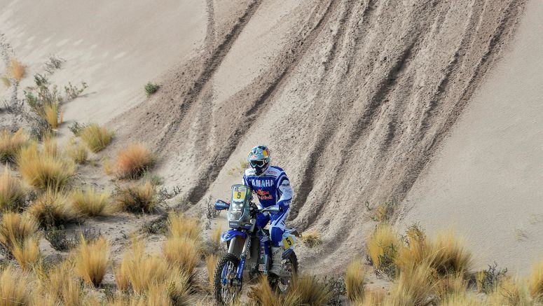 Yamaha Racing Trio Successfully Reach Dakar Rally's Halfway Mark In La Paz