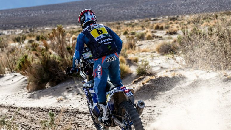 Van Beveren Takes Yamaha Inside The Top Three At Dakar Rally 2017