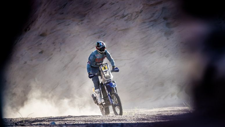 Van Beveren And Yamaha Finish Third In Dakar Rally's Penultimate Stage