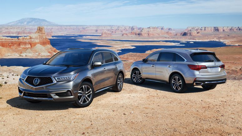 2017 Acura MDX Named Best Luxury Three-Row SUV for the Money by U.S. News & World Report