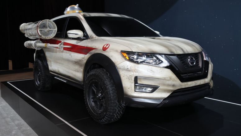 2017 Chicago Auto Show: Nissan continues its Star Wars lovefest with X-Wing-inspired Rogue