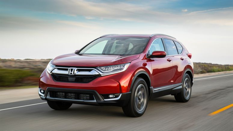 Honda CR-V, HR-V and Fit Receive 2017 Best Cars for the Money Award