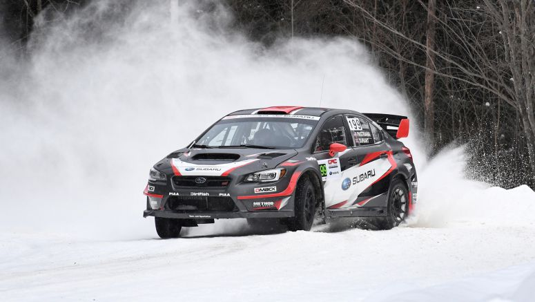 Victory for Subaru Rally Team USA at Rallye Perce Neige