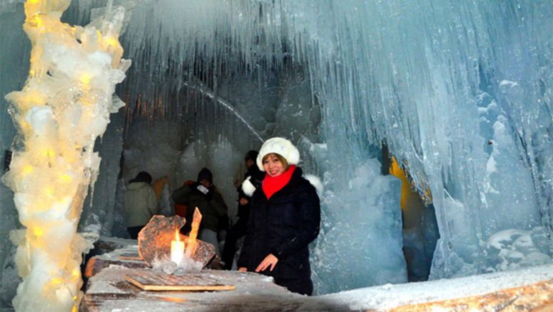 Tourists drift to Hokkaido for natural wonder of sea ice festival
