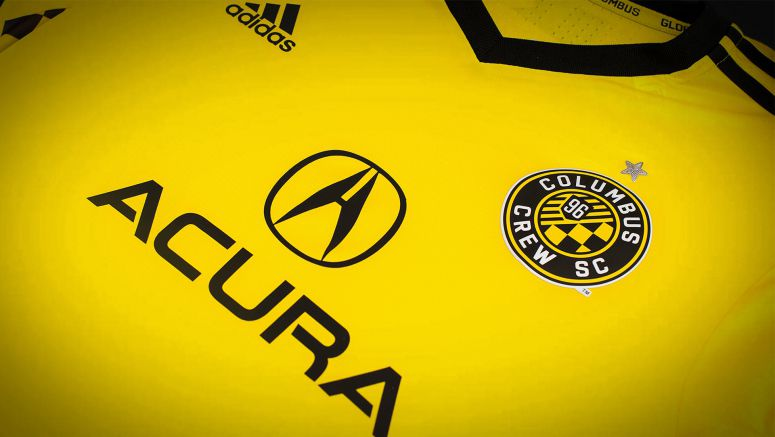 Acura Named Jersey Sponsor of Major League Soccer's Columbus Crew SC