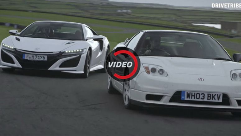 How Does The New 2017 NSX Compare To The Legendary 2002 NSX-R?