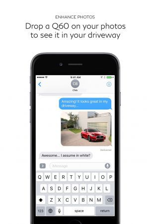 Infiniti becomes first luxury automaker to launch iMessage sticker pack in iOS App Store