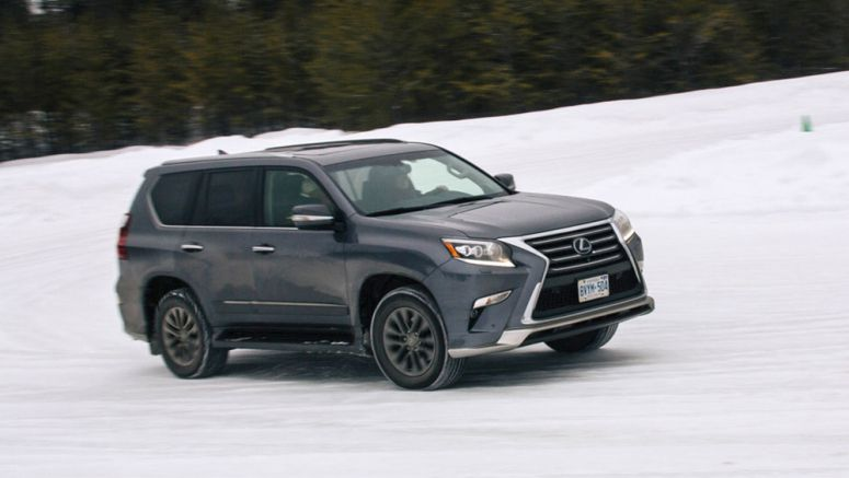 The Lexus Canada Winter High Performance Driving Program