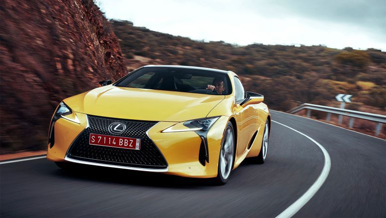 Lexus Follows Record Year with Strong January