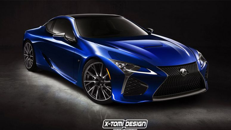 Lexus LC F Nameplate Trademarked in USA