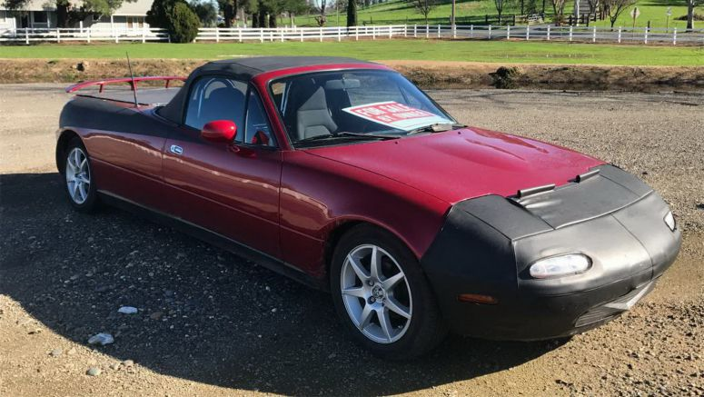 Stretched Mazda MX-5 Pickup Truck Conversion For Sale, No, Seriously