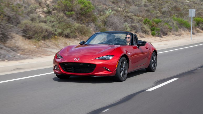 2017 Mazda MX-5 With Minor Equipment Upgrades Arriving At U.S. Dealers This Month