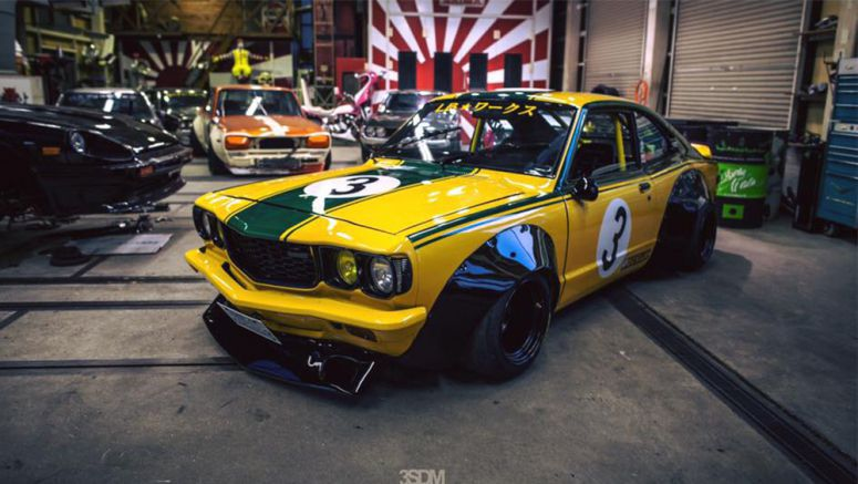 The Founder Of Liberty Walk Owns A Rather Amazing Mazda RX-3