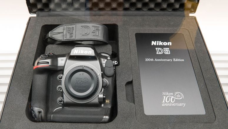 Nikon shows off 100th Anniversary D5 and D500