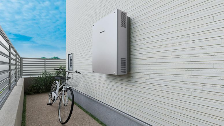 Panasonic Reduces Size of PV Generation/Power Storage System