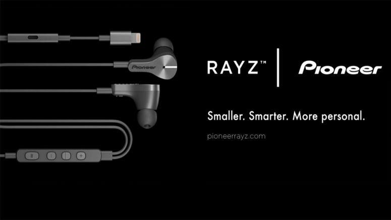 Pioneer Announces Rayz Lightning Connector Headphones