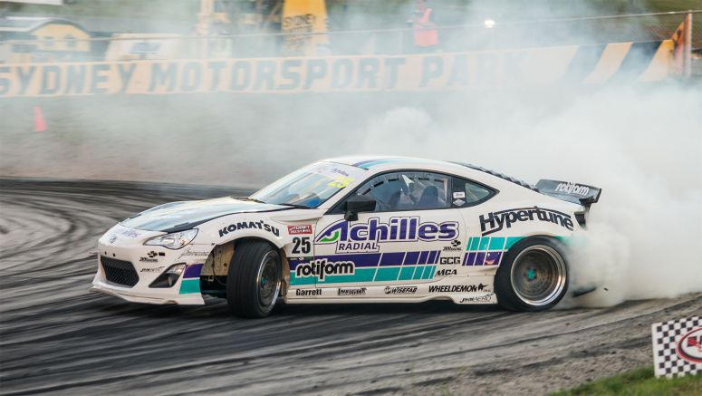 Toyota: Extreme Temperatures Forge New Drift Champion