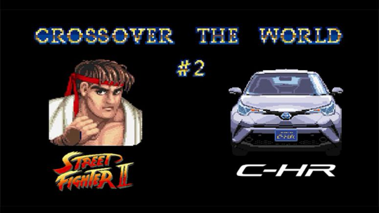 The Toyota C-HR Stars in Street Fighter Japanese ad