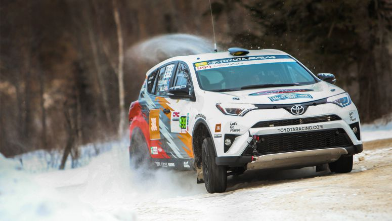 """Down Under"" Rally Team Wins in Canada"