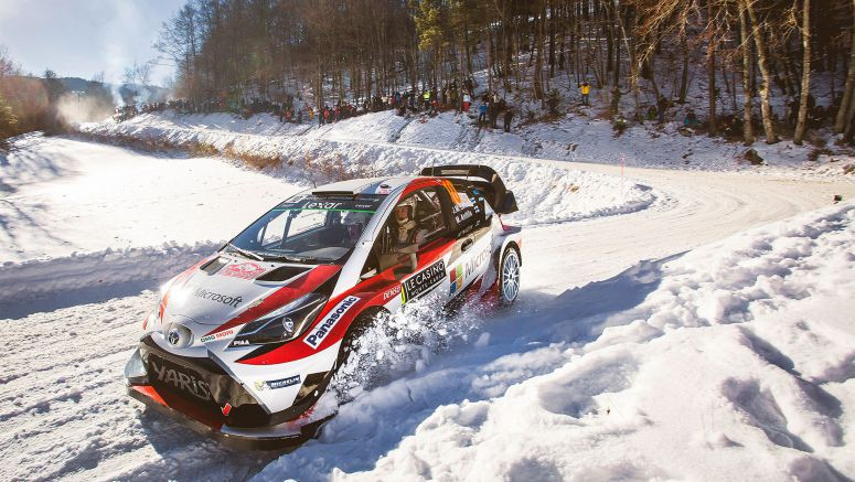 Toyota Set For WRC Snow and Ice Action