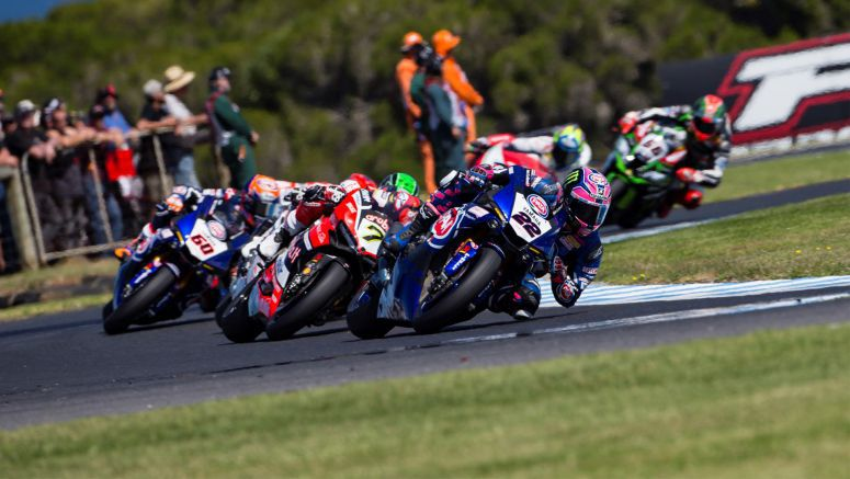 Yamaha: Lowes and YZF-R1 Closer Still to The Win As Van der Mark Improves