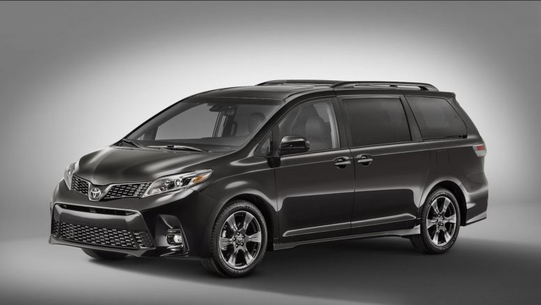 2018 Toyota Sienna, Yaris Updated with New Faces and Equipment