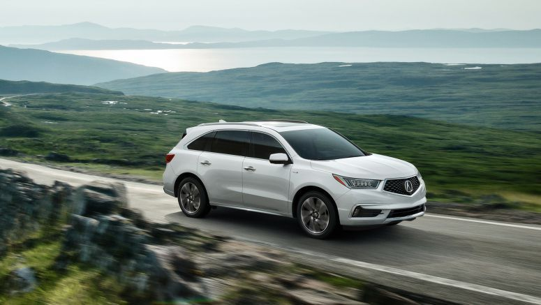 Acura Electrifies SUV Lineup with Powerful and Efficient 2017 MDX Sport Hybrid