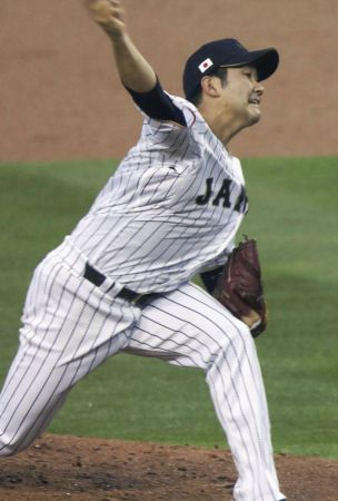 SOLEMN SAMURAI/Sugano empties heart into WBC elimination round, completions with 6 Ks in Japan's loss