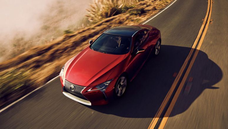 Lexus LC 500h Fuel Economy: 35 MPG on the Highway