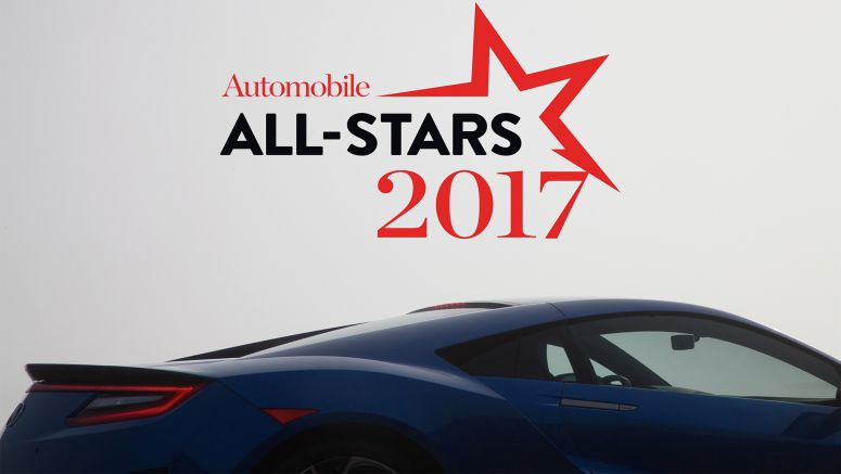 Acura NSX Named as a Prestigious 2017 AUTOMOBILE All-Star