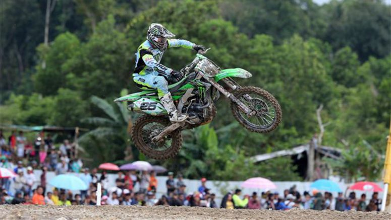 Kawasaki: Another podium for Clement Desalle in Indonesia