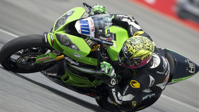 Kawasaki: Top Ten Qualifying for Ryde in Thailand