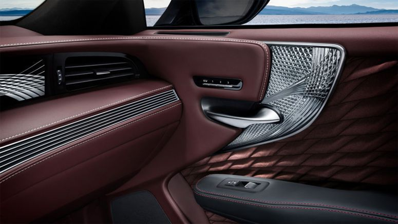 Next-Generation Lexus LS to Feature Carved Glass Interior Trim