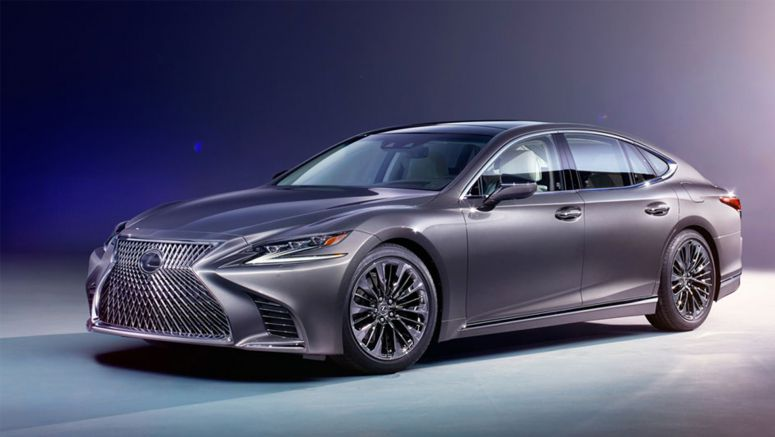 Preview: 2018 Lexus LS 500 First Drive