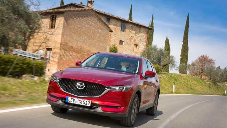 All-new Mazda CX-5: first European test-drives