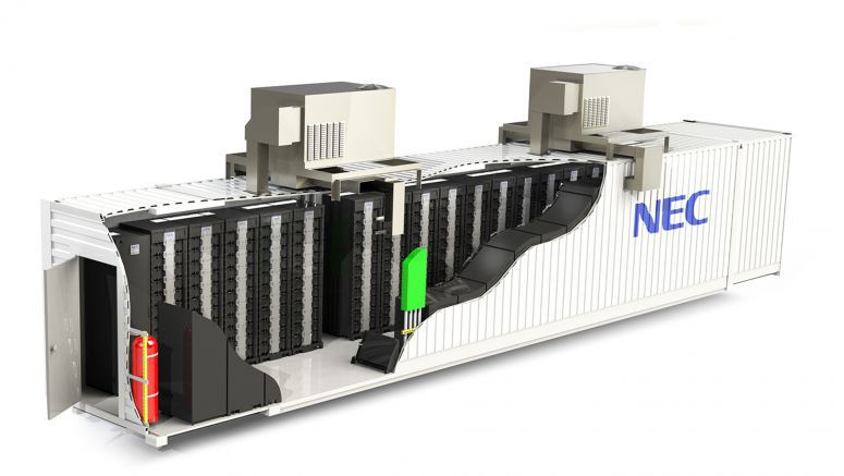 NEC to Construct 50MW of Storage Battery Systems in UK