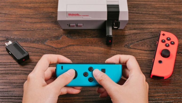 Play NES Classic Edition Using Nintendo Switch Joy-Con Controllers
