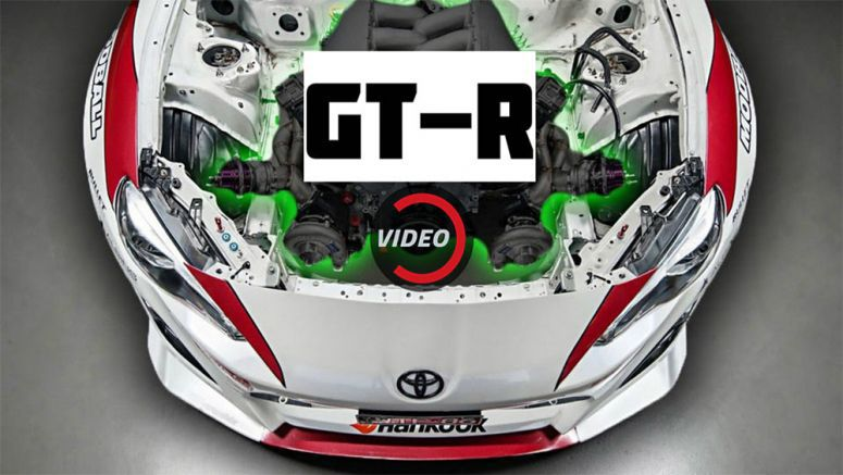 This Toyota 86 Got A Tuned Nissan GT-R Engine Transplant