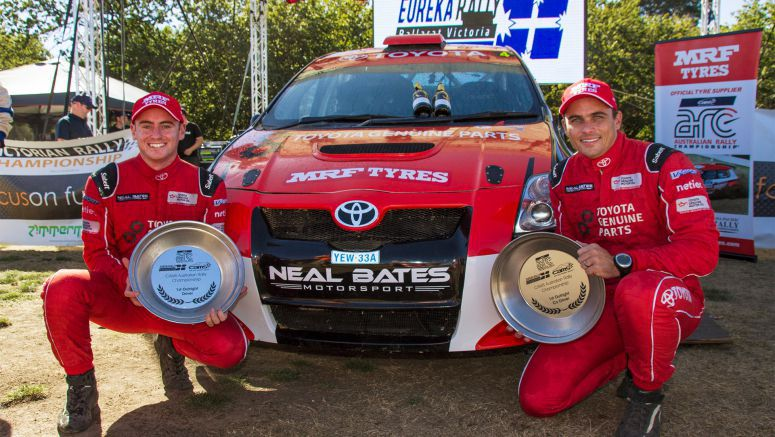 Toyota: Bates Becomes Youngest Arc round Winner