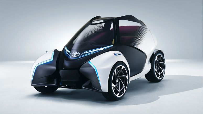 Toyota Presents Fun-to-drive Concept for Crowded Cities