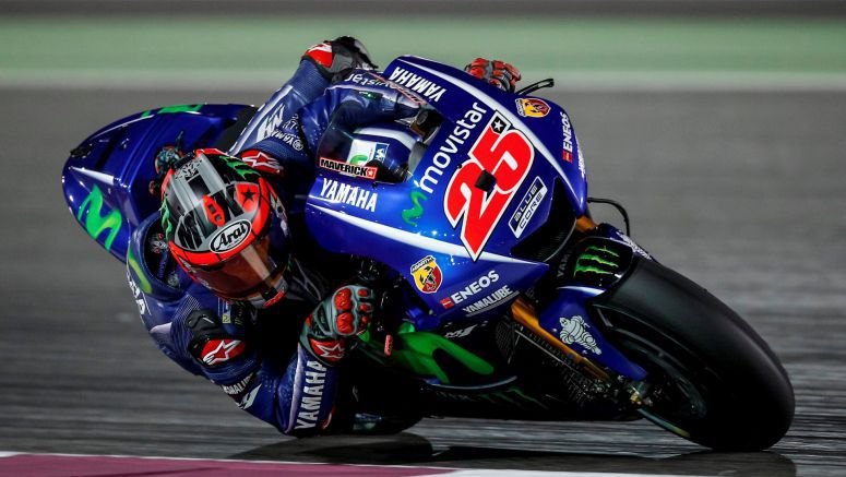 Movistar Yamaha Make Final Steps in Losail Test