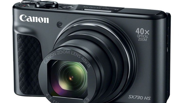 Canon's PowerShot SX730 HS travel zoom offers 40x focal point in a little package