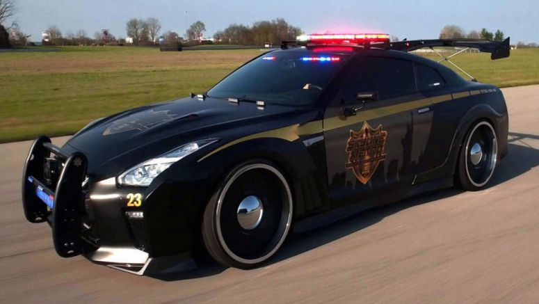 Nissan GT-R Copzilla Won't Fight Crime, But It Will Steal The Show In New York