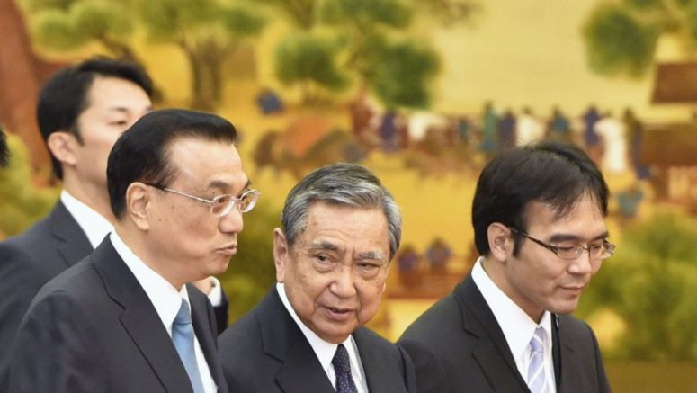 Chinese premier voices hope for improved ties with Japan