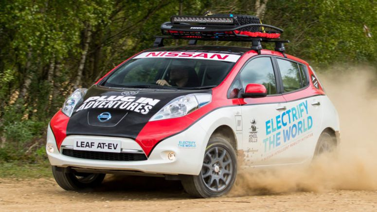 Nissan Leaf All-Terrain EV Charges Up For Mongol Rally [w/Video]